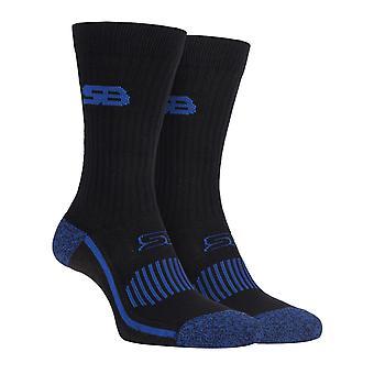 Storm bloc - heren katoenen sport dempende sokken