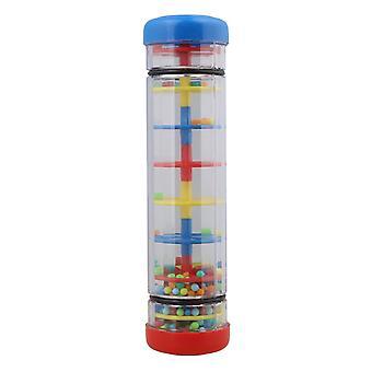 Для Milticolor Пластик 7.8Inch Rainmaker Трубка Шейкер Дети Музыка Сенсорная игрушка WS5147