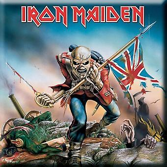 Iron Maiden - Trooper Kjøleskap Magnet