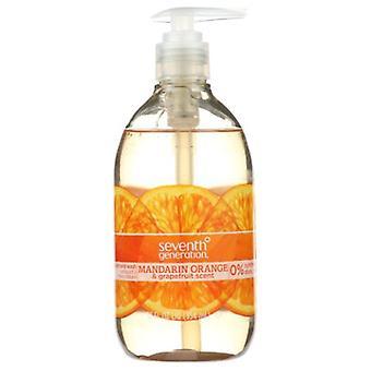 Seventh Generation Hand Wash, Mandarin Orange & Grapefruit 12 Oz