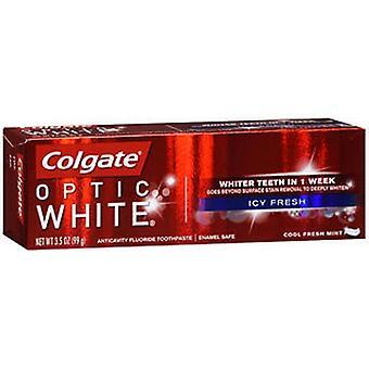 Colgate Colgate Optic White Icy Cool Fresh Anticavity Fluoride Toothpaste Fresh Mint, 3.2 Oz