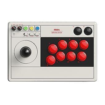 Genuine 8bitdo arcade stick joystick game controller fo nintendo switch pc steam