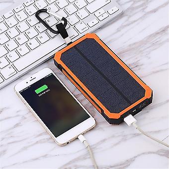 300000mah Wasserdichte Solar externe Power Bank für Mobiltelefone + Kabel