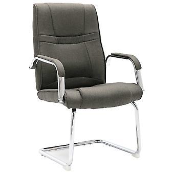 vidaXL كانتيلفر رئيس مكتب كرسي النسيج الرمادي