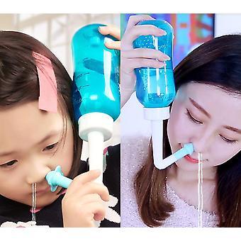 Nenäpesu - Kostutukset välttää, Sinus allergiat helpotus, nenän puhdistussuoja