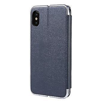 Flip Cuero Flip Funda de Caja con Ranura para Samsung Galaxy S8 + / S8 Plus - Gris