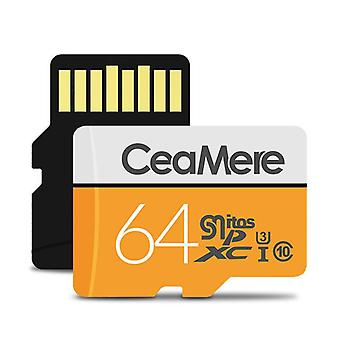 Memory Card SD Card U1 U3 C10 TF Card for HD Picture Video Storage