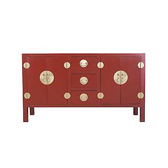 Fijn Aziatischliving Chinees Dressoir Ruby Red - Orientique Collection W160xD50xH90cm