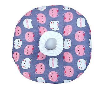 Elizabeth Circle Adjustable Soft Pet E-Collar Neck Collar Circle for Cat Small Dog L Size