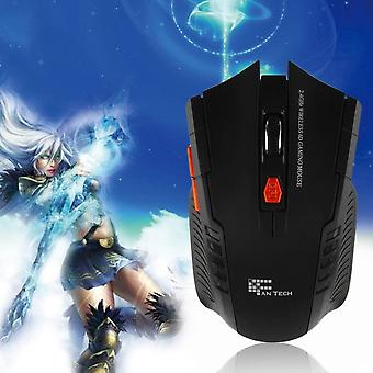 Fantech Mini Portable Wireless 6d Optical Gaming Mouse Mice For Pc Laptop
