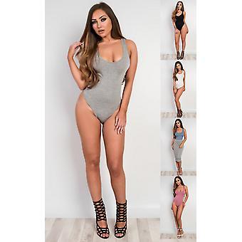 IKRUSH Womens Kynlie Basic Bodysuit