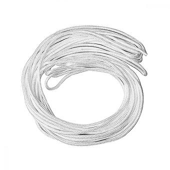 Picture Hanging Wire, 20m*4mm Nylon Photo Frame Mirror Hanging Cord, White