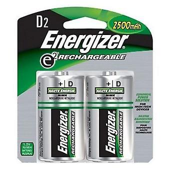 Újratölthető akkumulátorok Energizer ENRD2500P2 HR20 D2 2500 mAh