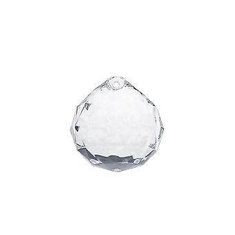 5 cristales colgantes claros de 34 mm - artesanías de boda y navidad