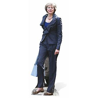 Theresa May Cardboard Cutout / Standee / Stand Up