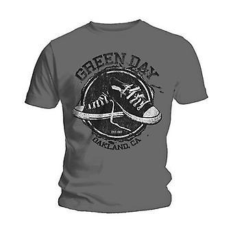 Green day unisex tee: converse