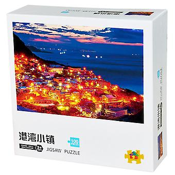 100 Pieces Jigsaw Puzzles Large Size Toy Games Gift (15 X10 Inches)