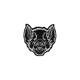 Extreme Largeness Bat Face Iron-On Patch