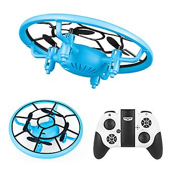 Remote Control Drone, Mini Long-distance Remote Control, Anti-fall And Shock-proof, Small Handle, Quadcopter, Children's Gift,-(blue)