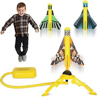 Children's Toy Color Foam Rocket Launcher Solid Launcher Bracket