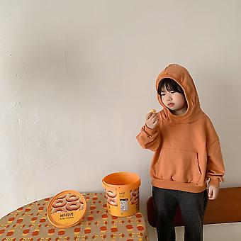Children Sweater Hoodie For Boys And Girls Spring And Autumn New Baby Cotton Pullover Jacket Little Girl Hoodies