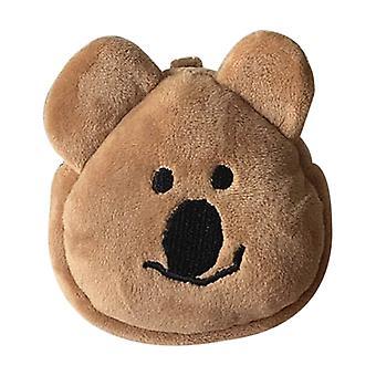 Cute Bear Coin Wallet Purse Headset Bag Cartoon Animal Pouch Key Card Holder