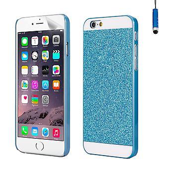 Cas de conception de paillettes pour Apple iPhone 6 6 s - bleu