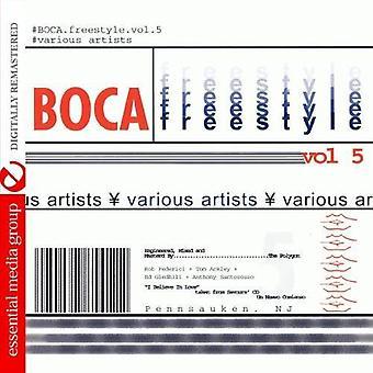 Boca Freestyle - Vol. 5-Boca Freestyle [CD] USA import