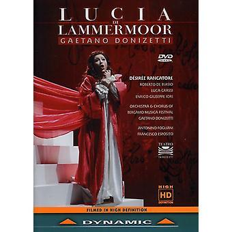 G. Donizetti - Lucia Di Lammermoor [DVD] USA import