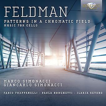 M. Feldman - Feldman: Patterns dans une importation USA champ chromatique [CD]