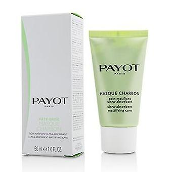 Payot Pate Grise Masque Charbon - Ultra-absorbent Mattifying Care - 50ml/1.6oz