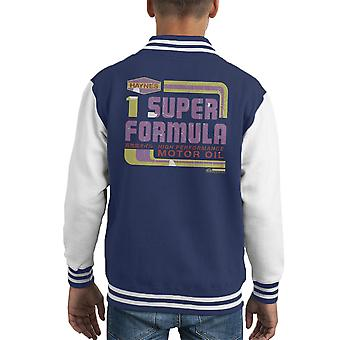 Haynes Super Formula Motor Oil Kid's Varsity Jacket