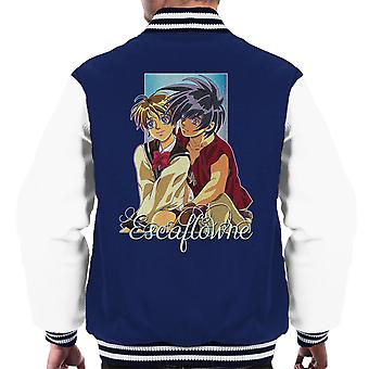 Van Fanel And Hitomi The Vision Of Escaflowne Men's Varsity Jacket