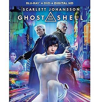 Ghost i Shell [Blu-ray] USA importen