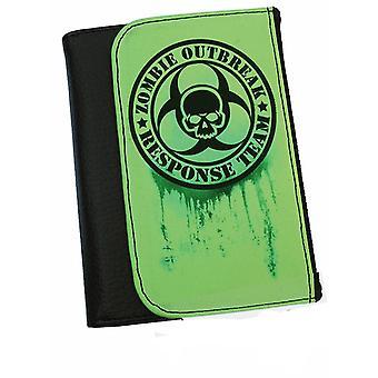 Darkside - zombie outbreak response  - bi-fold simulated leather wallet