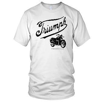 Triumph Bonny Boneville Classic Bike Herren-T-Shirt