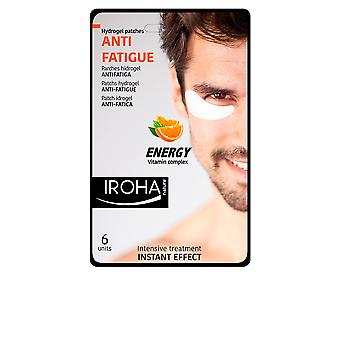 Iroha Men Eye Hydrogel Patches Anti-fatigue Vit Complex 6 Pcs For Women