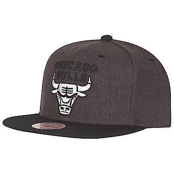Mitchell & Ness Snapback NBA Cap - G3 Chicago Bulls charcoal
