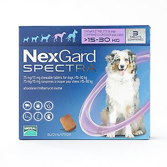 Nexgard Spectra Large Dogs 15-30kg (33-66lbs) 6 Pack