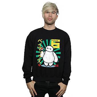 Disney Herren großer Held 6 Baymax Lollypop Sweatshirt