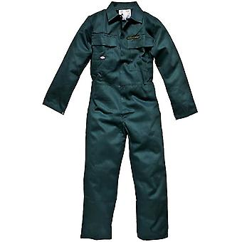 Dickies Mens Workwear Proban Coverall VAT B Green FR4869V