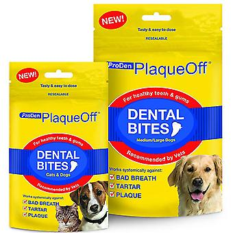 Plaque Off Dental Bites for Small Dogs & Cats 60g