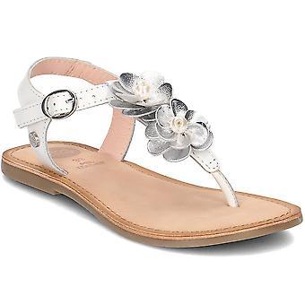 Gioseppo 43899 43899WHITESILVER universal summer kids shoes