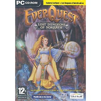 EverQuest mistede fangekældre af Norrath Expansion Pack-ny