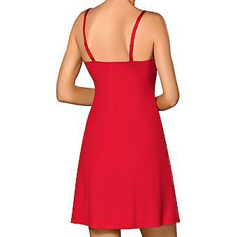 Nipplex CLA-CZE-KOS kobiet Claudia Red Lace noc suknia Gama Piżam Koszula nocna
