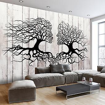 Fototapete - A Kiss of a Trees