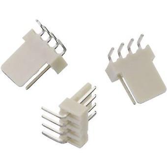 ピン 4 接点間隔のウルト当初内蔵 pin ストリップ (標準) WR WTB 合計数: 2.54 mm 61900411021 1 pc(s)