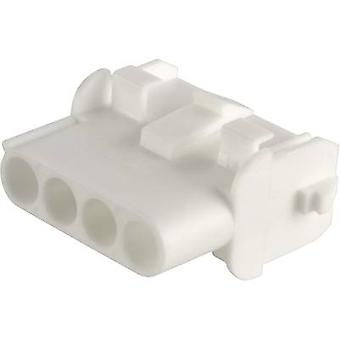 TE Connectivity Socket enclosure - cable Universal-MATE-N-LOK Total number of pins 5 Contact spacing: 6.35 mm 350810-1 1 pc(s)