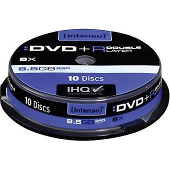 Intenso 4311142 Blank DVD+R DL 8.5 GB 10 pc(s) Spindle