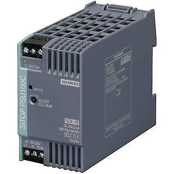 Siemens SITOP PSU100C 24 V/2,5 A Rail mounted PSU (DIN) 24 V DC 2.5 A 60 W 1 x